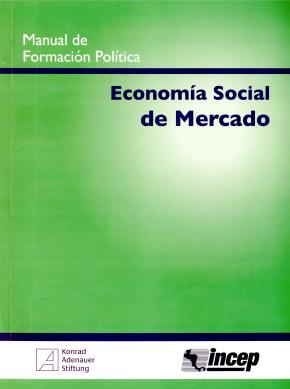 Portada del manual de Economía Social de Mercado